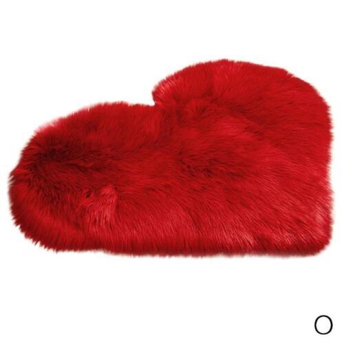 Neu Wolle Nachahmung Schaffell Teppiche Faux Fur Rutschfeste Schlafzimmer Shaggy