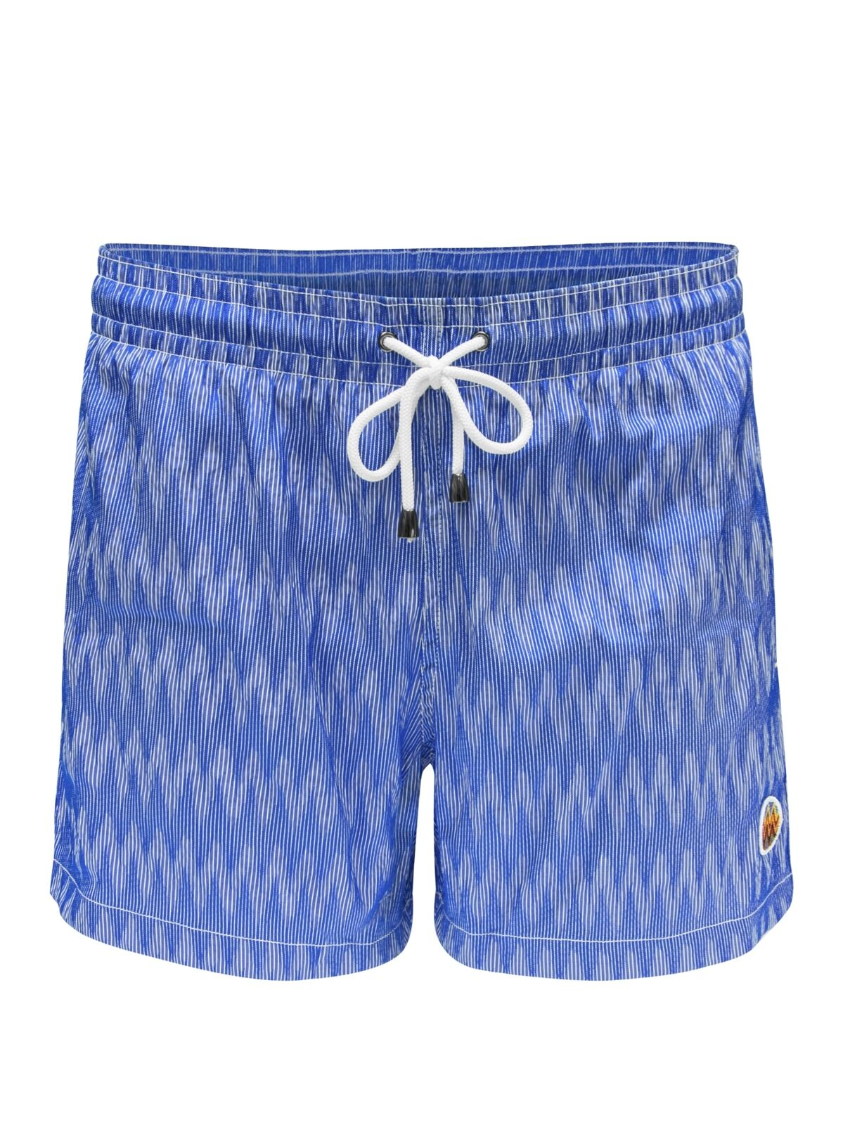 MISSONI Mare Space-Dye greenical Stripe Shorts