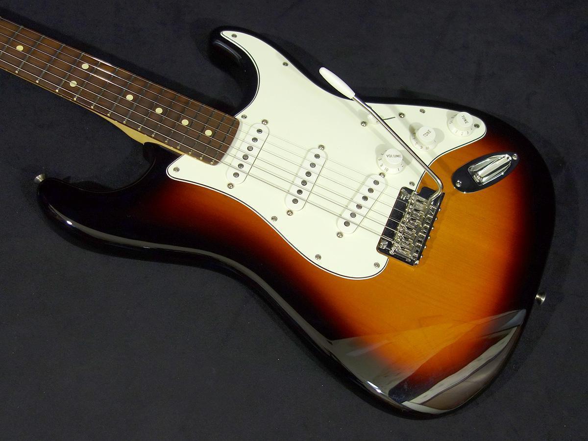 Fender Mexico Player Stratocaster 3-Farbe Sunburst beautiful rare EMS F S