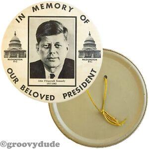 7 In Memory Of Our Beloved President John Kennedy Memorial Pin Pinback Button Ebay