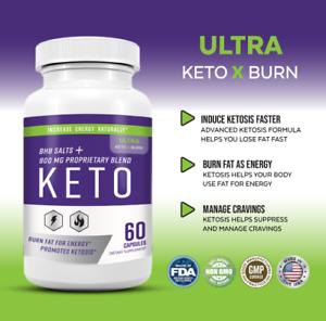 Ultra Keto X Burn Shark Tank 800mg Ketones Pure Keto Fast Weight Loss Supplement