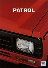 Prospekt Datsun Nissan Patrol 1984 Autoprospekt 1 84 Auto Pkw Geländewagen