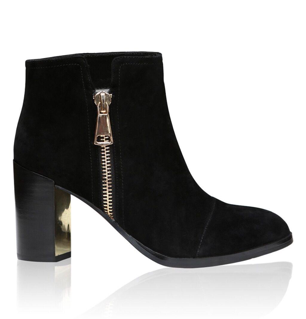 BNIB BNIB BNIB Senso Quartz II Ebony Suede Stiefel Größe AU 9  EUR 40   299.95 24dbf3