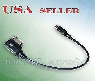 Mini-USB Music Device to Mercedes-Benz MMI AMI Music System Audio Input Adapter