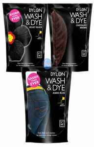 Dylon-Fabric-Clothing-Clothes-Washing-Machine-Wash-amp-Dye-Various-Colours-400g