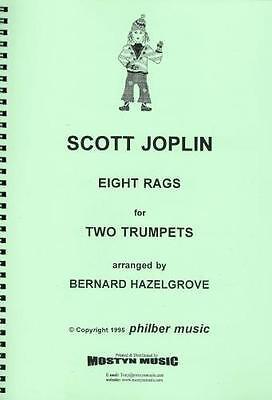 Bernard Hazelgrove Eight Rags for 2 Saxophones Saxophone Duet Scott Joplin Arr