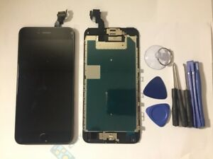 size 40 734b5 fefb7 Details about Black iPhone 6S Plus Assembled Genuine OEM LCD Digitizer  Screen Replacement