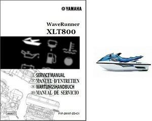 Yamaha waverunner xlt800 service repair manual cd xlt for Yamaha ysp 5600 manual