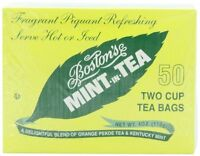 Boston Tea Mint-in-tea, 50-count Boxes (pack Of 6) , New, Free Shipping on Sale