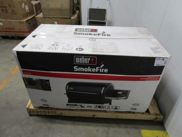 Weber SmokeFire EX6 (2nd Gen) Wood Fired Pellet Grill Black 23510201