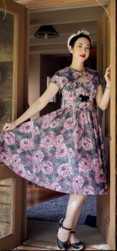 Pinup Couture Evelyn Dress & Bolero Size XL