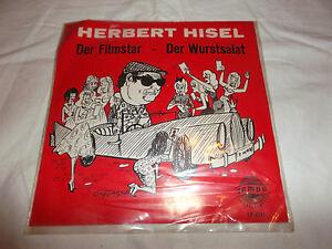 vinyl-Single-Herbert-Hisel-Der-Filmstar-Der-Wurstsalat-EP-4171