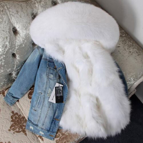 Giacca donna con vera pelliccia collo in con volpe di in pelliccia da cappuccio 6rwO5qFx6