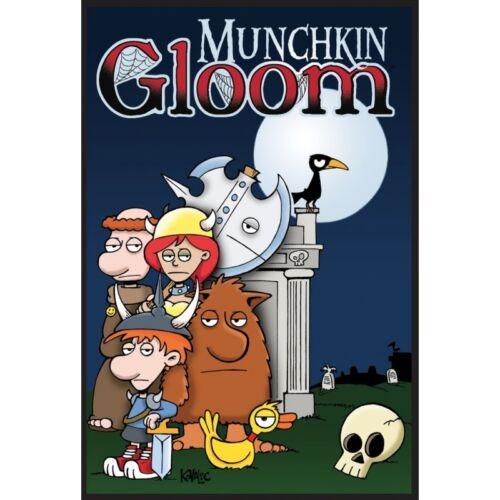 Free Shipping Munchkin Gloom Factory Sealed Steve Jackson Games