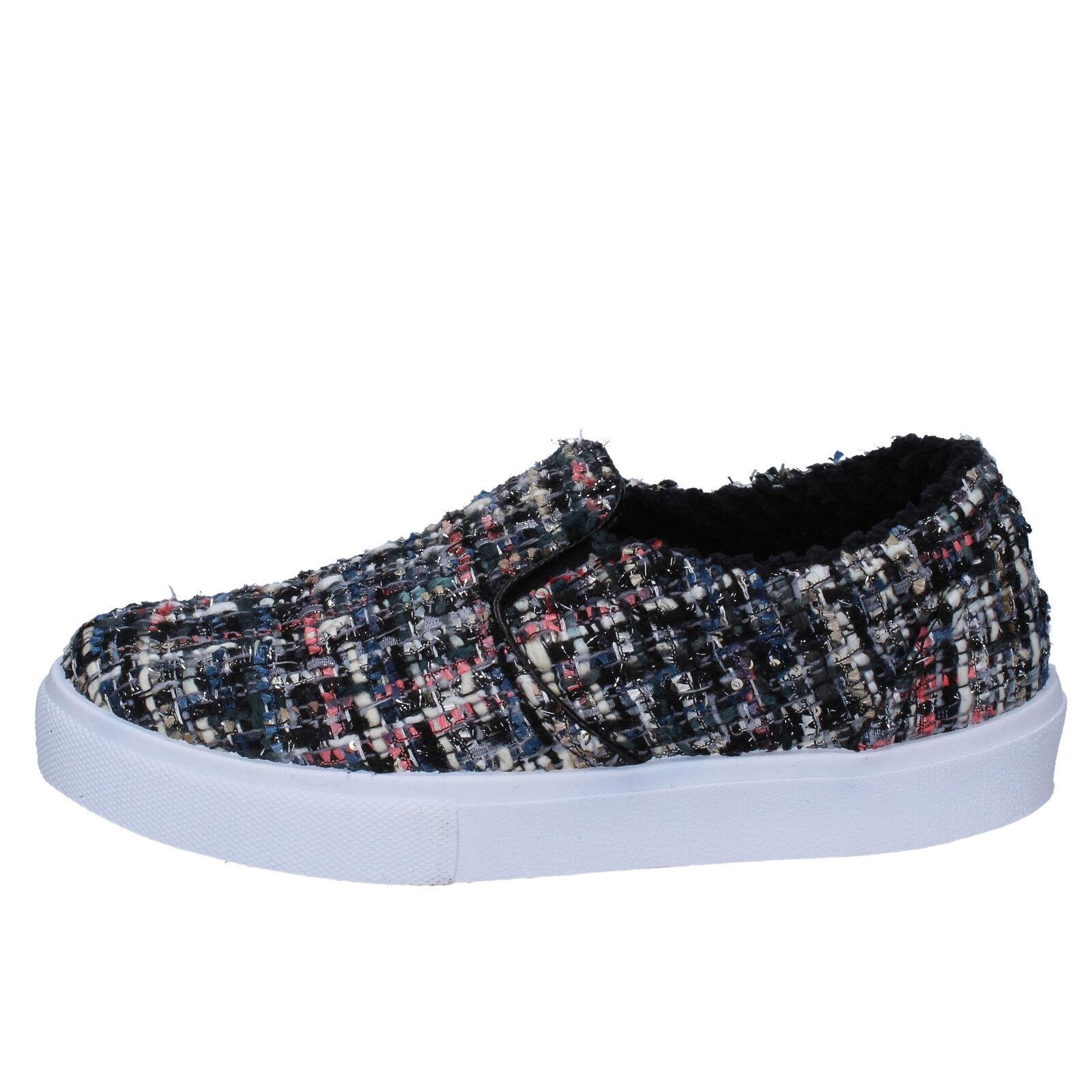 Zapatos para mujer 2 estrellas 5 (EU (EU (EU 38) Slip On MultiColor textil BX381  buena reputación