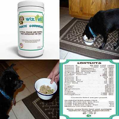 Homemade Dog Food Supplement Powder