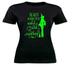 Halloween-Wicked-Witch-T-Shirt-Wicked-Witch-Of-The-West-Women-s-Witchcraft