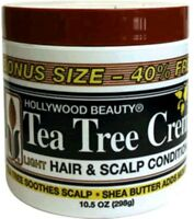 Hollywood Beauty Tea Tree Creme Hair - Scalp Conditioner, 7.5 Oz (pack Of 9)