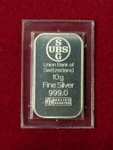 UBS-Lingot-10-g-argent-pur-999-Melter-Assayer