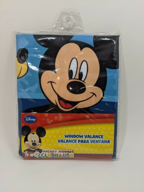 Disney Mickey Mouse Playground Pals Window Valance Blue 4033030 For Sale Online Ebay