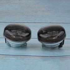 Smoke Turn Signal Lens Lenses Indicator Blinkers For 2005-2015 Suzuki Boulevard M50//C50 VL800 Volusia