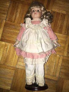 Doll-Bambola-Zasan-1988-59-44-Bionda-Blonde-Porcellana-Porcelain-No-Lenci