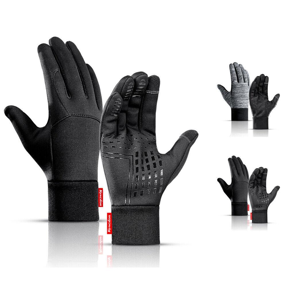 moleve Winter Gloves for Men /& Women,Gloves Touchscreen Cycling Windproof /&Water-Repellent Sport Gloves for Running