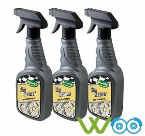 Nettoyant-jantes-Premium-Vehicule-voiture-auto-entretien-traitement-alu-3x-500-ml