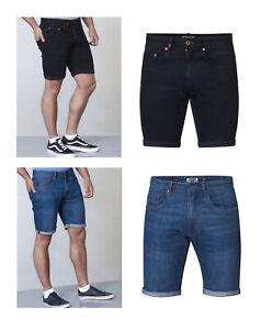 Pantalones-de-mezclilla-para-hombre-Duke-D555-Big-regular-tamano-tramo-largo-hasta-la-rodilla-Roll