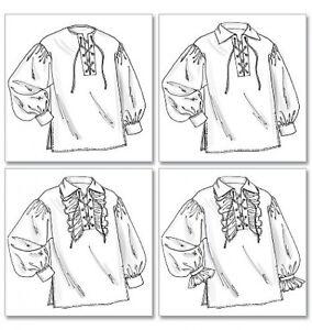 Schnittmuster-B-4486-Historische-Hemden