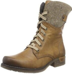 Ankle Eu 79604 Boots 24 Rieker Uk Brown wood 41 cayenne Women's 7 5 q7fwwxEO