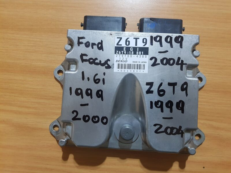 Ford Focus 1.6i 16V 1999-2004 DENSO ECU part# Z6T9 18 881