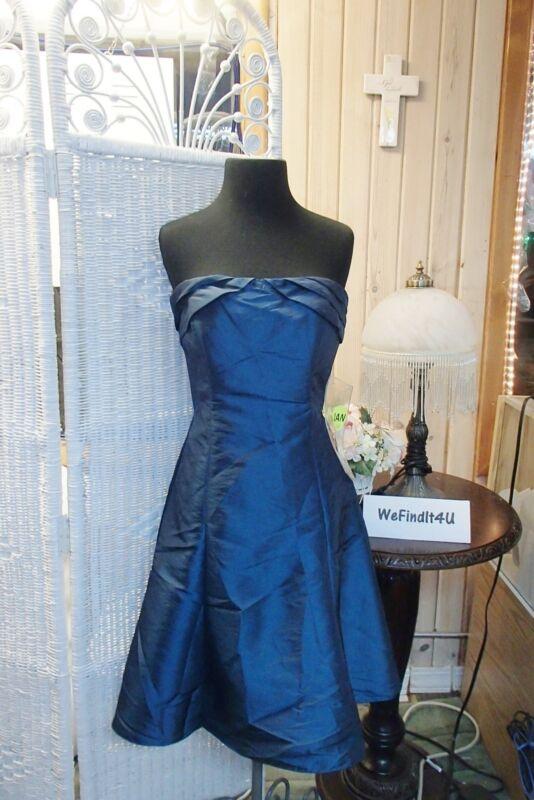 A1510 2be Sozial B234808t Gr. Uk 8 Aquamarin Trägerlos Formelles Kleid Kleid Diversifizierte Neueste Designs
