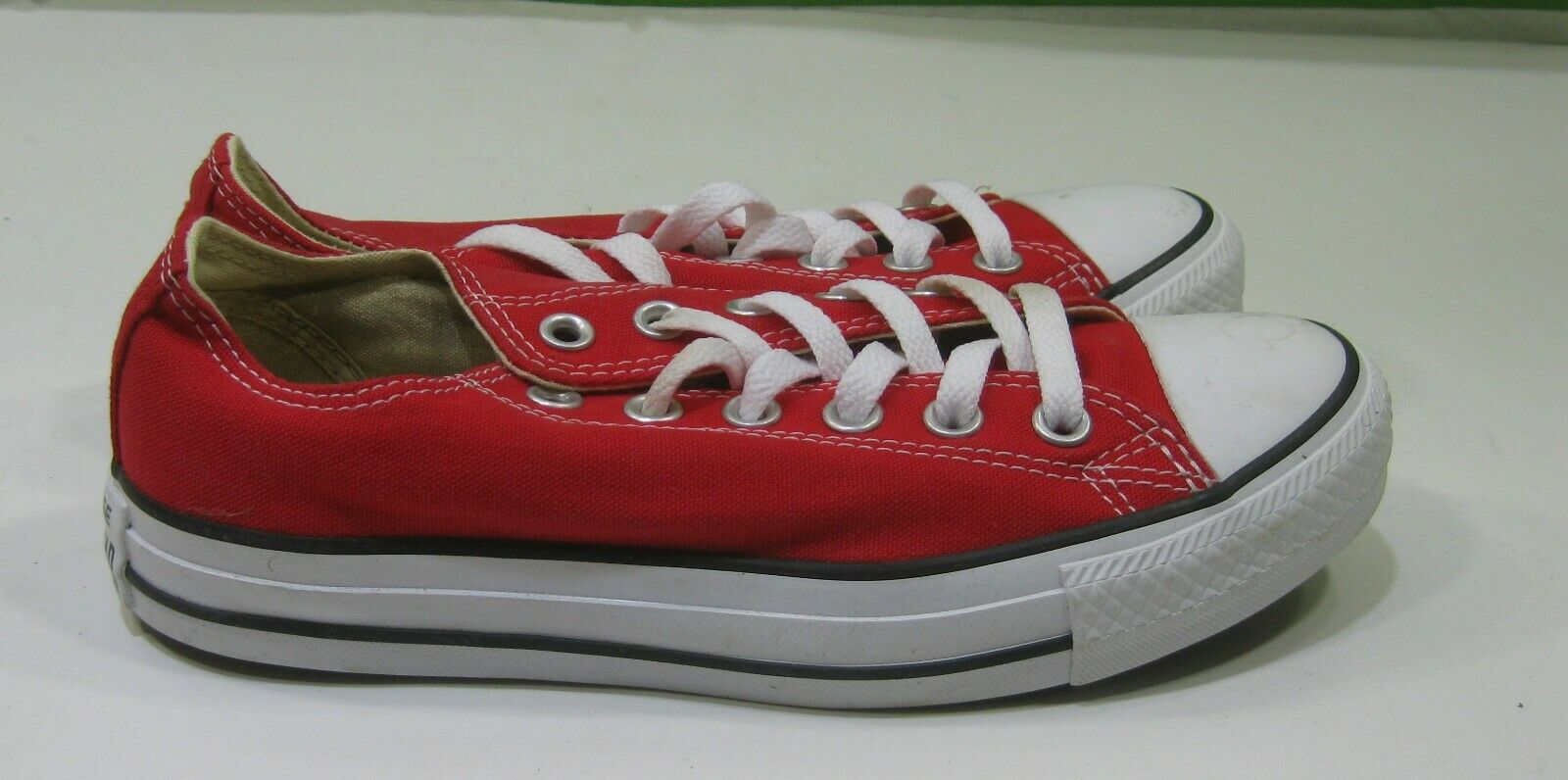 M9696  Converse shoes Chuck Taylor Ox All Star RED LOW  Sneakers Men 5 Wo  7