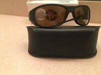 Vuarnet Sunglasses Vl0121 Black Frame High Contrast Brown Polarized Lens