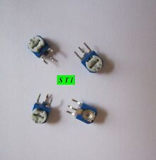 4 Pcs 0 100k Ohm Trim Pot Linear Potentiometer Variable Resistor