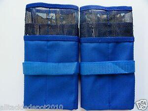 1 pcs Black  Fishing Lure Bag 6 Pocket Storage Jig bait bags