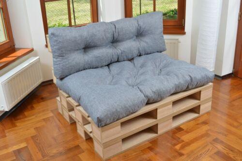 Palettenkissen Set Outdoor Palettenauflage Palettenpolster Sitzkissen 120x80