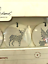 thumbnail 4 - Hearth and Hand Magnolia Porcelain Christmas Ornaments Joanna Gaines Set of 4