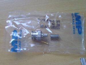 BNC Stecker für RG58 Crimpversion von AMP - <span itemprop='availableAtOrFrom'>Mering, Deutschland</span> - BNC Stecker für RG58 Crimpversion von AMP - Mering, Deutschland