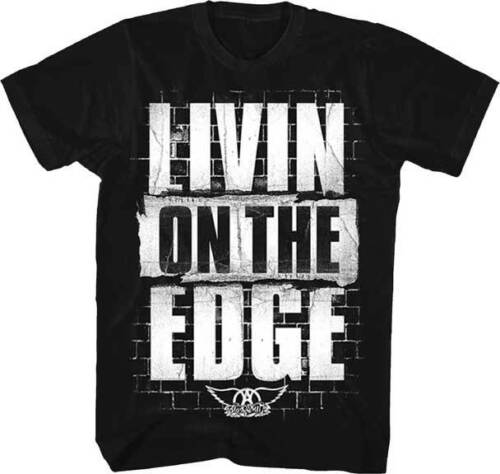 Aerosmith Livin On The Edge T-Shirt   New  Official  Free Shipping