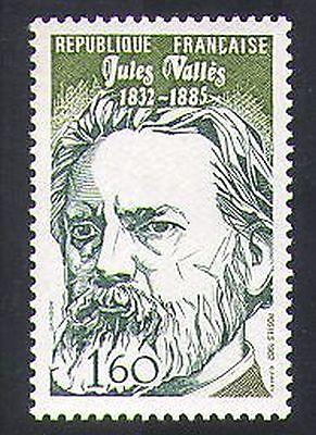 France 1982 Jules Valles/Journalism/Writers/Communication/People 1v (n36933)