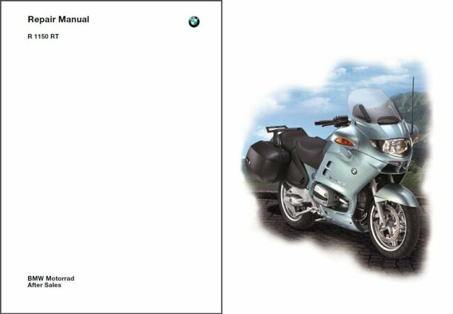 2001-2002-2003-2004 BMW R1150RT Service Manual CD  -  Multilingual  -  R 1150 RT