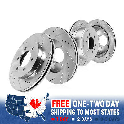 OE Replacement Rotors Metallic Pads F+R 2007 2008 Chevy Silverado 1500 2WD//4WD