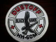 HH-60M DUSTOFF Black Hawk Patch / NEW / Smaller Size