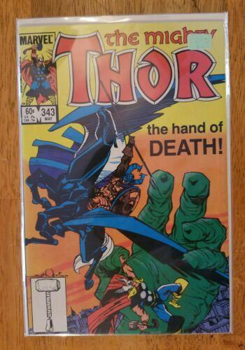 The Mighty Thor #343 1968 Marvel Comics Series  Walt Simonson Avengers NM