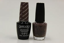 (GCF15 + NLF15) - OPI GELCOLOR + NAIL LACQUER  - YOU DON'T KNOW JACQUES! 0.5oz