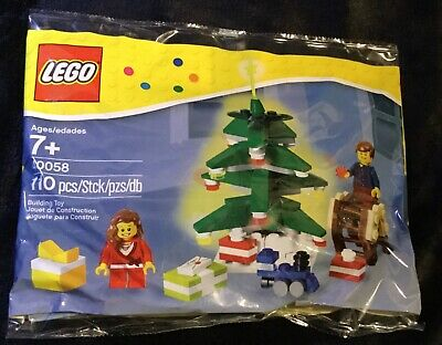 new in sealed package LEGO Christmas Tree set 40058