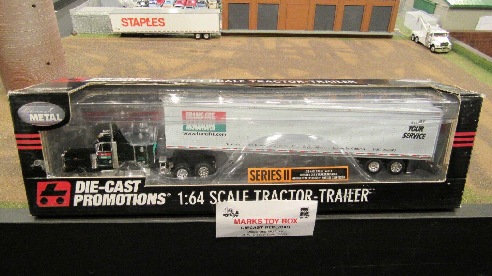 DCPTrans flete McNamara Pete 379 semi camión 53' Dry Van Trailer 1 64 FC