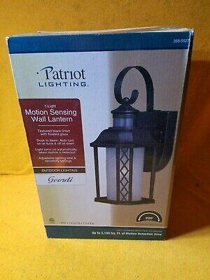 PATRIOT OUTDOOR LIGHTING MOTION DUSK TO DAWN SENSING BLACK ... on Patriot Outdoor Living id=39229